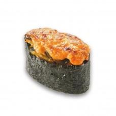 Суши запеченные с Мидиями (1 шт)